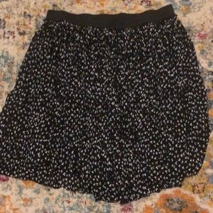 Torrid floral circle skirt